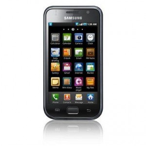 Samsung Galaxy S frontal