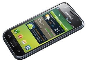 Samsung Galaxy S ladeado